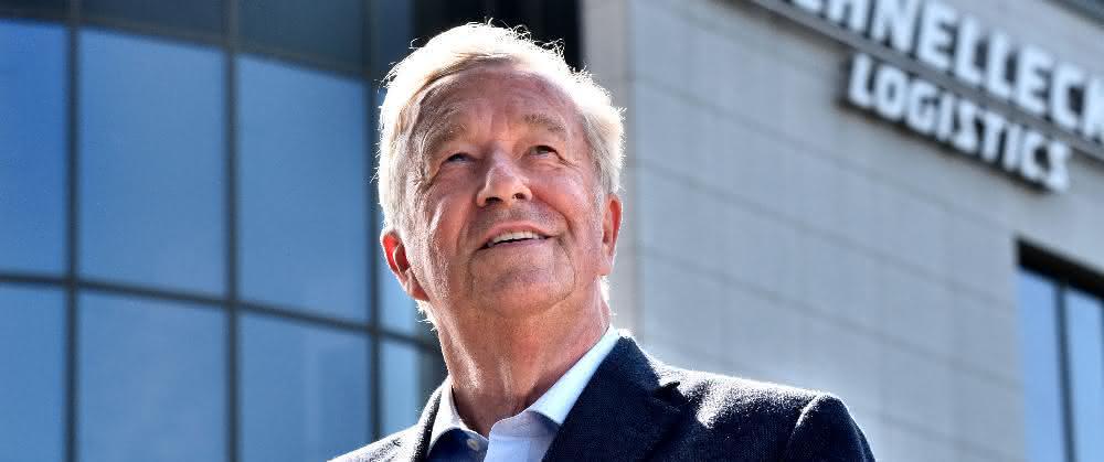Rolf Schnellecke neues Mitglied der Logistics Hall Of Fame