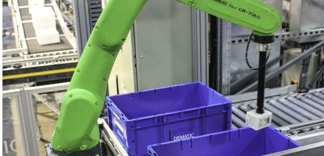 Roboter Piece Picking Module
