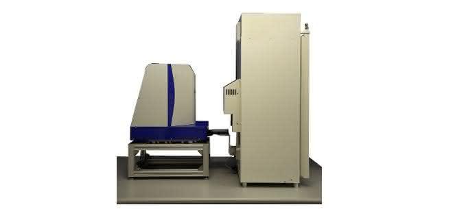 Das Digitalmikroskop CrysCam UV mit integriertem Plattenhotel von Art Robbins Instruments.