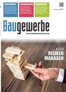 Baugewerbe 10/2017 Titelseite