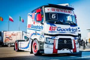 Reifenspezialist BFGoodrich zeigt auf der Tire Cologen neben Offroad-Reifen erstmals Lkw-Reifen für den europäischen Markt