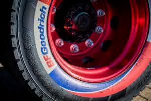 Der Reifenspezialist BF Goodrich präsentiert auf der Tire Cologne vom 29. Mai bis 1. Juni mit dem BFGoodrich Mud-Terrain T/A KM3 seinen neuesten Offroad-Reifen.