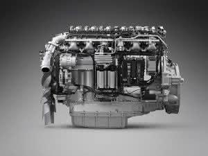Bau-Lkw: Weltpremiere für 13-Liter-Gasmotor