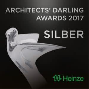 Mauerwerksbau: KS* erhält Architects' Darling in Silber