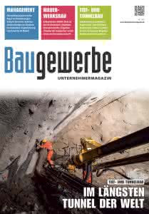 Baugewerbe 06/2018 Titelseite