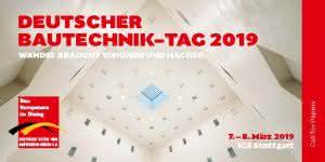 Deutscher Bautechnik-Tag 2019 - Call for Papers