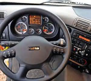Tatra-Interieur