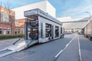 Bau-Lkw: Sauber und leise durch München: zwei neue E-Lkw für BMW