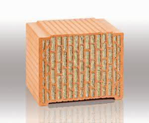 """Ideal für den mehrgeschossigen Wohnungsbau: Der """"Unipor WS09 Coriso""""-Mauerziegel überzeugt auch in schlanken Wänden mit Brandschutz, hoher Wärme- und Schalldämmung sowie seinen statischen Qualitäten. (Abb.: UNIPOR, München.)"""
