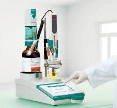 Titrationszelle mit integriertem Dispergierer