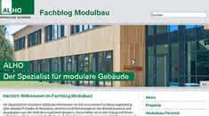 Krane und Hebebühnen: Alho: Neue Online-Plattform für Modulbau