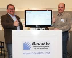Bauunternehmer Rainer Jentz erwartet Sie auf der bauma in Halle B3, Stand 543. (Abb.: Jentz & Jentz Bau GmbH)