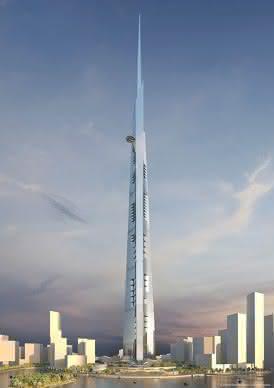 Krane und Hebebühnen: Doka: Schalung für den 1000 Meter-Wolkenkratzer