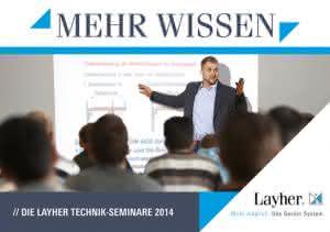 Krane und Hebebühnen: Layher: Technik-Seminare ausgebaut