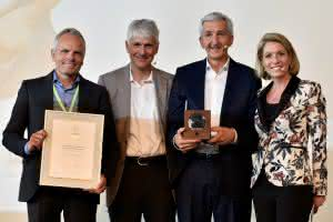 News Logistik: Cargonexx und Ludwig Meyer jubeln über Eco Performance Award 2018