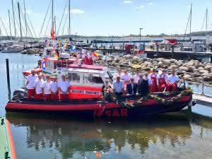 Zu Wasser: Seenotrettung tauft neues Boot