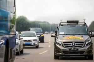 Zu Lande: Daimler erhält Genehmigung für autonomes Fahren in Peking