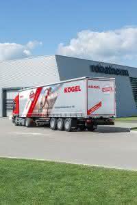 Zu Lande: Kögel präsentiert neue Generation des Cargo auf der IAA Nutzfahrzeuge