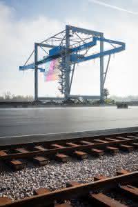 News Logistik: Container-Terminal am Rhein wird eingeweiht