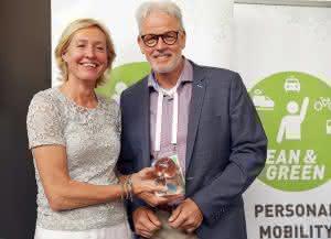 """Zu Lande: Auszeichnung: """"Lean and Green Star"""" für Spedition Rabelink"""