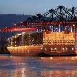 DEU Schifffahrt Containerschiff