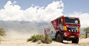 Zu Lande: Gute Platzierungen von MAN bei der Dakar und in Afrika