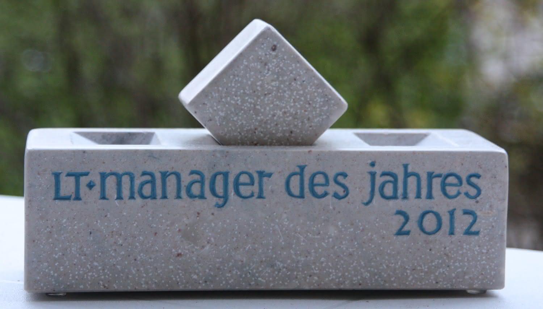 News LT People: Aus Ausgabe 4/12: Erich Staake ist LT-manager des Jahres 2012