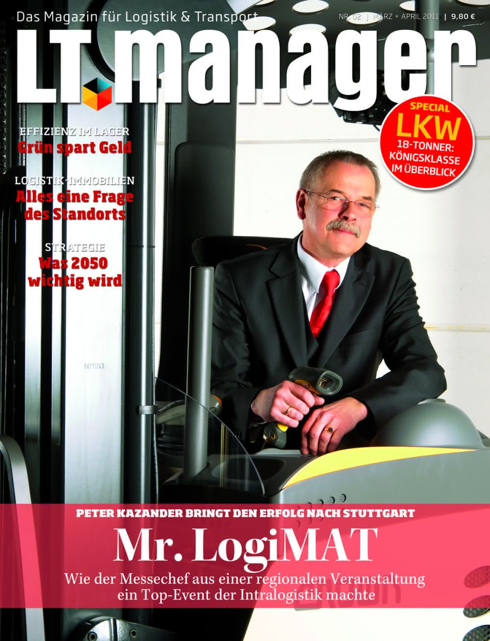 Intralogistik: LogiMAT-Macher jubeln