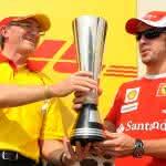 Zu Lande: Trostpreis an Fernando Alonso
