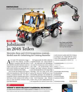 News Knowledge: Aus Ausgabe 5/11: Interview zur Kooperation von LEGO mit Mercedes Benz