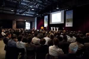 Volles Haus beim Vortrag von Prof. Dr. Michael ten Hompel