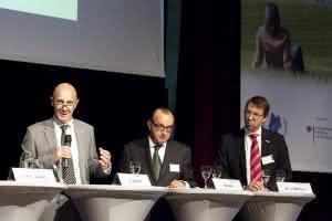 In der Luft: Prof. Michael ten Hompel gibt Startschuss zum EffizienzCluster LogistikRuhr