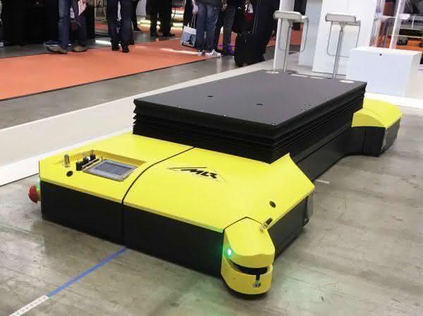 Fahrerloser Plattformwagen von MLR