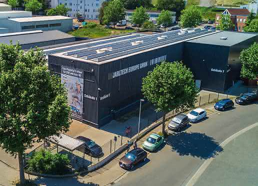 Jarltech Logistikzentrum in Usingen
