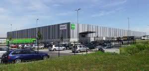 Industriegebiet Star Park in Halle