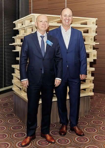 EPAL-Präsident mit EPAL-CEO