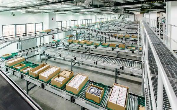 Logistikbereiche bei Pepperl+Fuchs