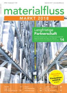 materialfluss Markt 2018 Titelseite