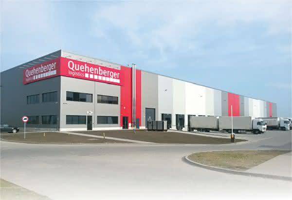 Warehouse von Quehenberger Logistics