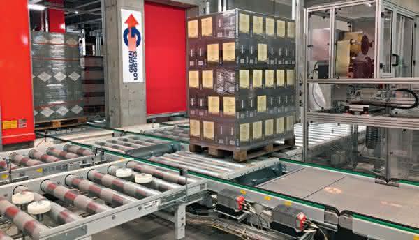 Gesamtsystem aus dem Hause Gilgen Logistics