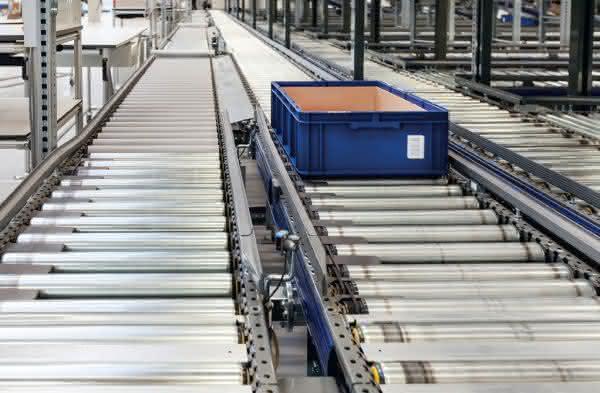 Behälter-Fördertechnik Streamline von Knapp