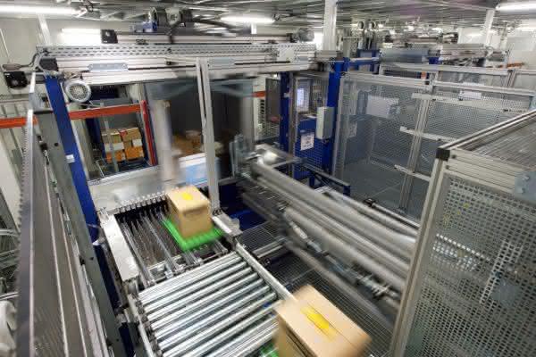 Kommissionierung von Tiefkühlprodukten