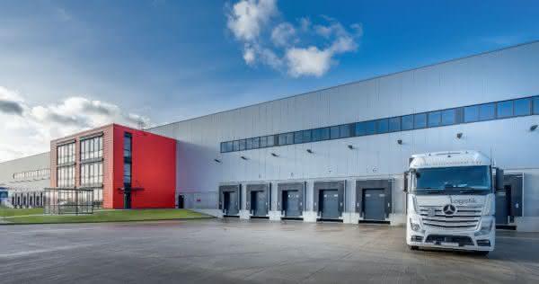 Logistikzentrum von Derby Cycle