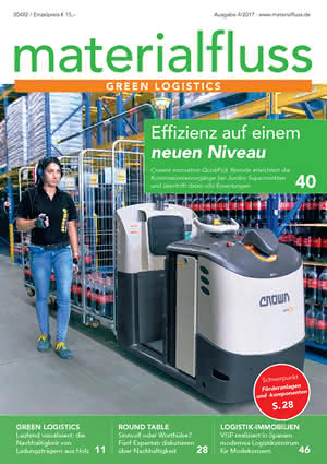 Materialfluss Titelseite Ausgabe 04/2017