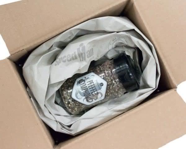 Pfeffer in nachhaltiger Verpackung