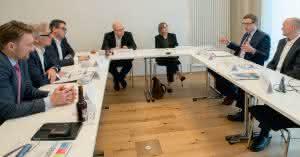 Materialfluss Round Table über Nachhaltigkeit