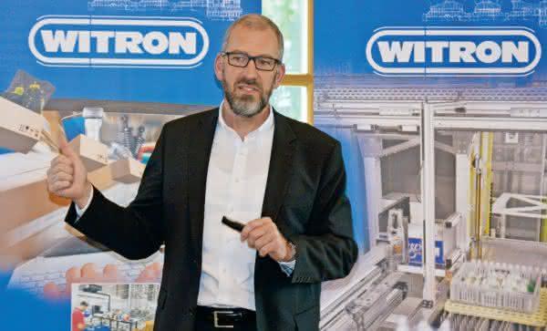 Witron-Geschäftsführer Helmut Prieschenk