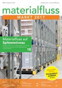 Materialfluss Markt 2017 Titelseite
