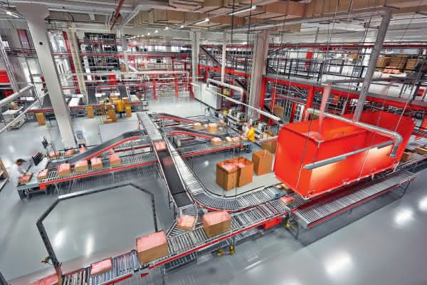 Logistikzentrum von Avnet
