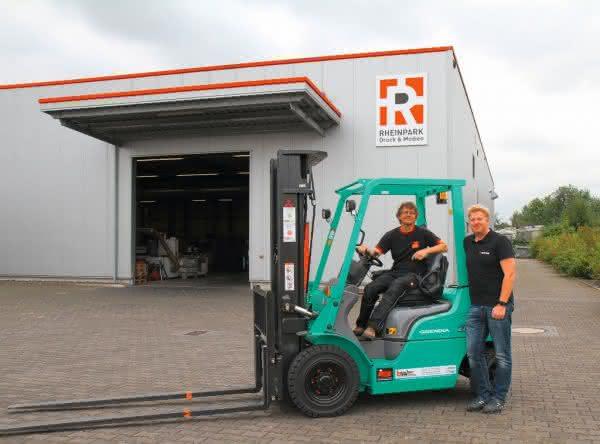 Bild: Büscher Lagertechnik